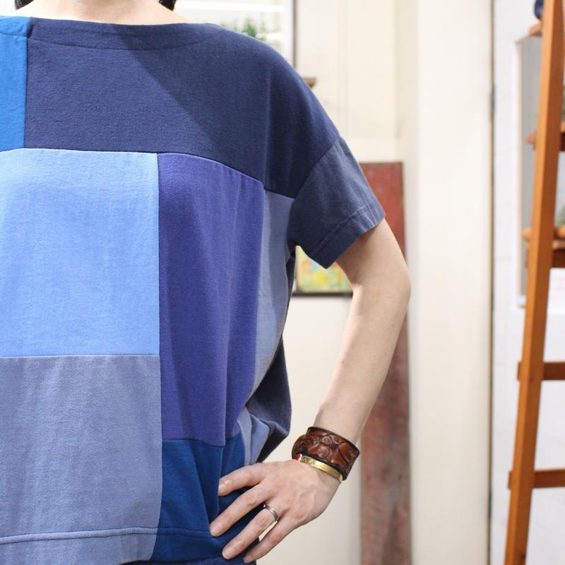 Patchwork Tee-Shirts ⑧/サイズフリー