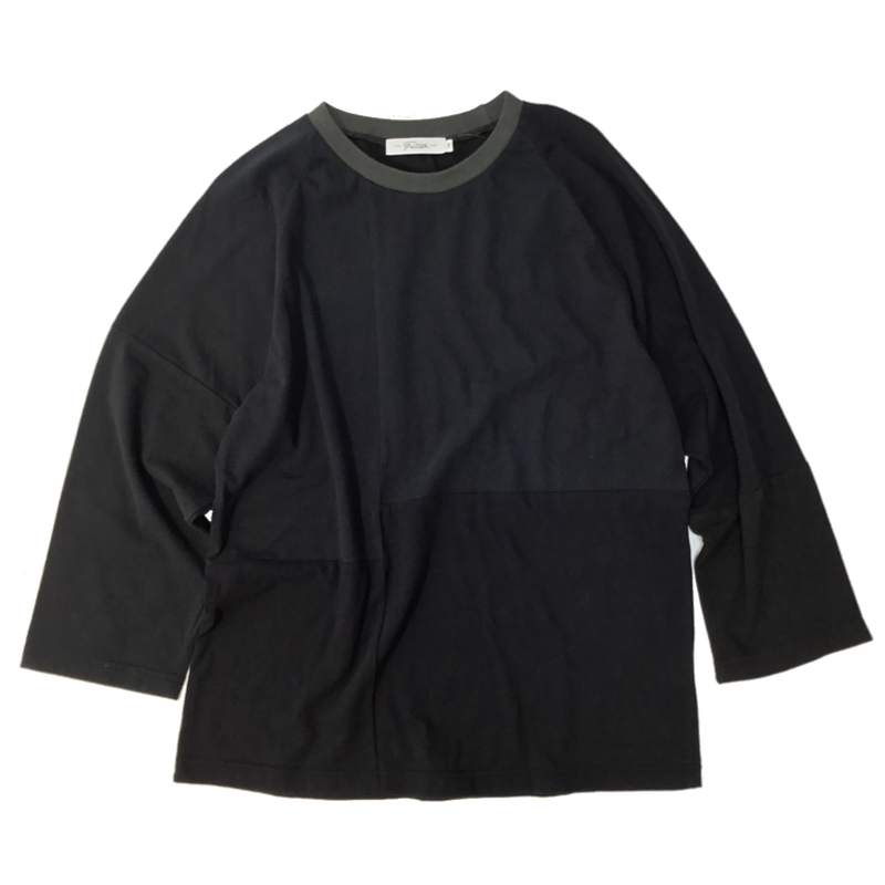 Patchwork Raglan Sleeve④/サイズM