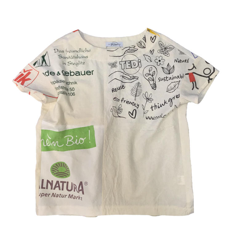 Eco T-shirts/エコTシャツ①/フリーサイズ