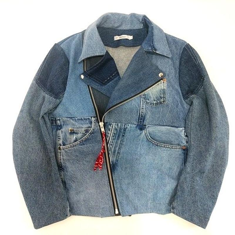 Denim Riders Jacket④/サイズL/ブルー