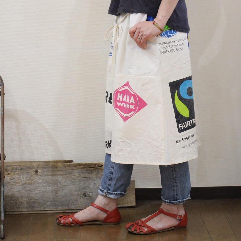 Eco-Gathered skirt③/フリーサイズ