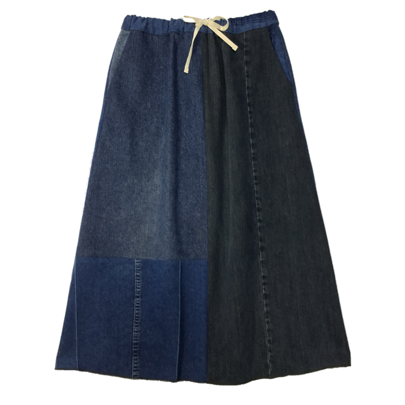 Denim Long Skirt②