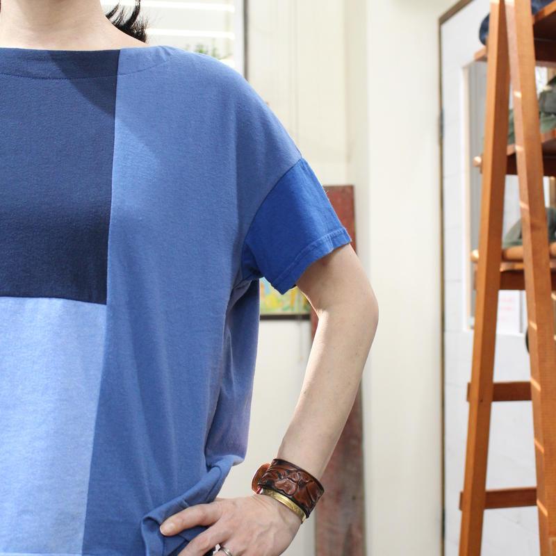 Patchwork Tee-Shirts ⑦/サイズフリー