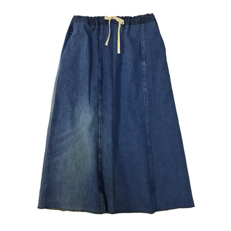 Denim Long Skirt⑦