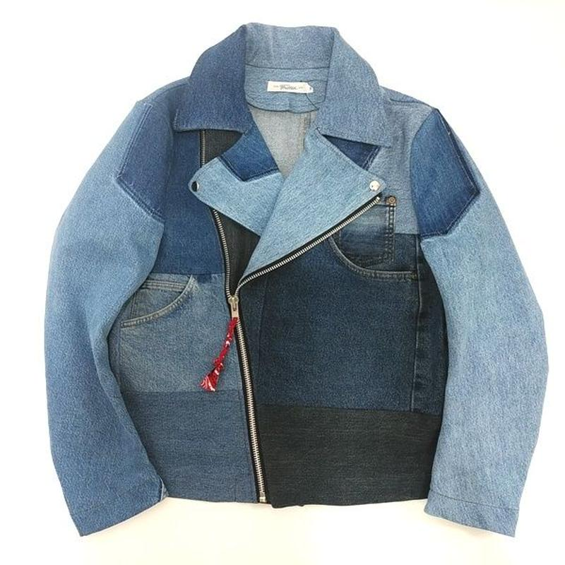 Denim Riders Jacket⑤/サイズM/ブルー