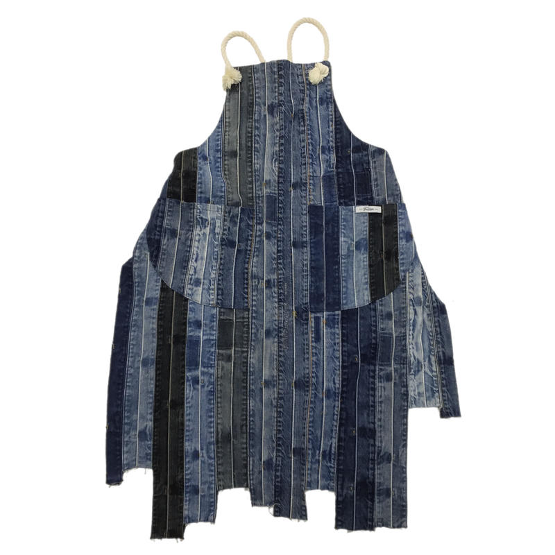 Denim Koshiobi Apron⑤