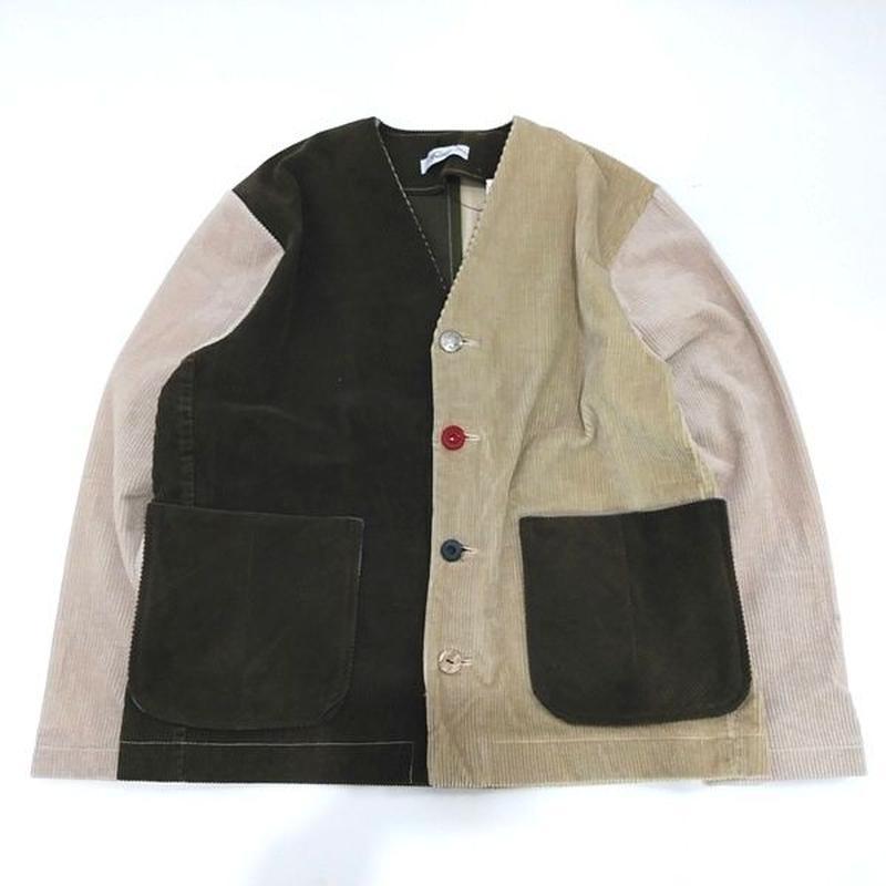 Corduroy Nocollar Jacket③