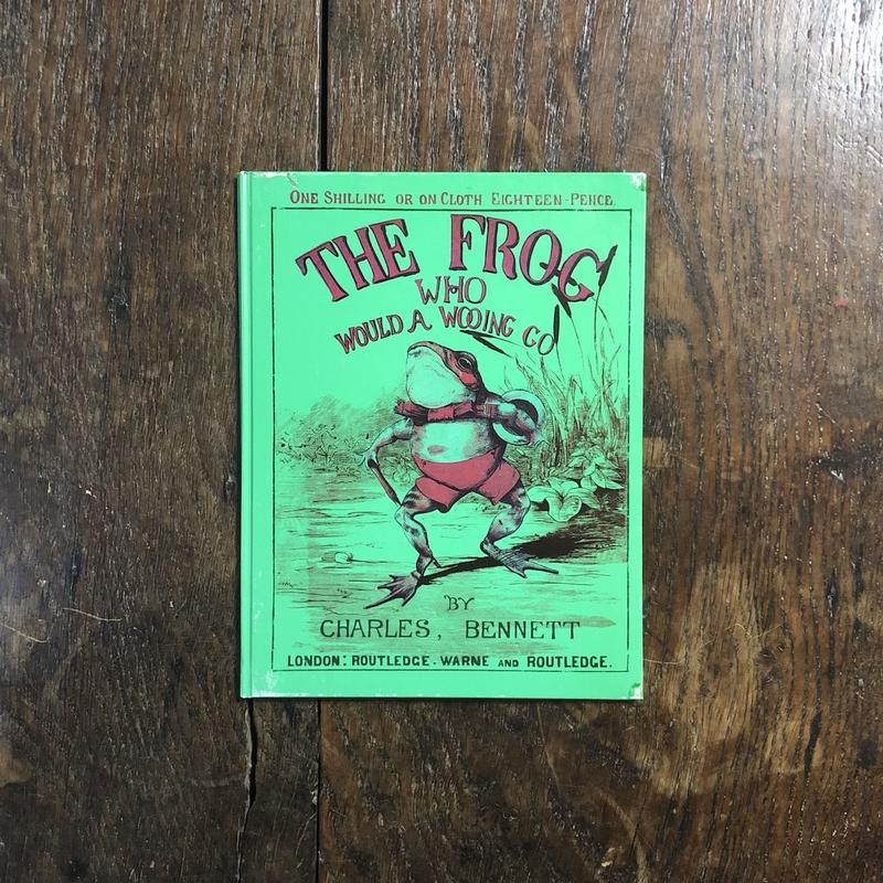 「THE FROG WHO WOULD A WOOING GO(カエルのおよめさんさがし オーピー・コレクション1)」Charles H. Bennett