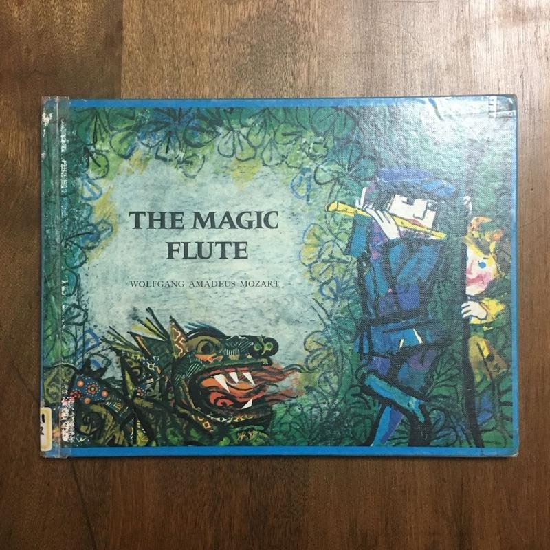 「THE MAGIC FLUTE」Mozart Emanuele  Luzzati