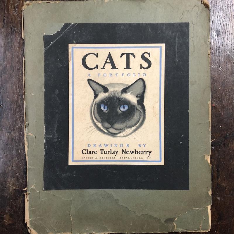 「CATS A PORTFOLIO」Clare Turlay Newberry(クレア・ターレー・ニューベリー)