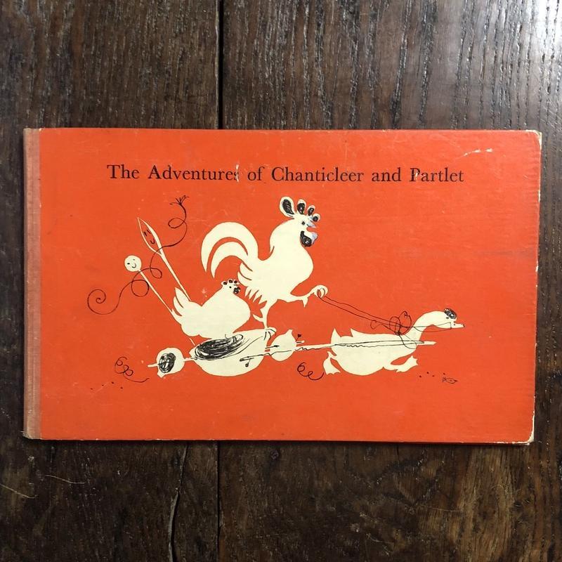「The Adventures of Chanticleer and Partlet(1945年?UK版初版)」Hans Fischer(ハンス・フィッシャー)