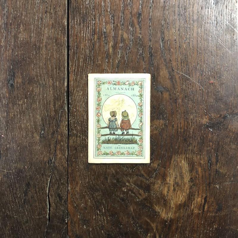 「ALMANACH 1884(French edition)」Kate Greenaway(ケイト・グリーナウェイ)
