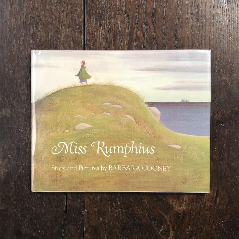 「Miss Rumphius」Barbara Cooney(バーバラ・クーニー)