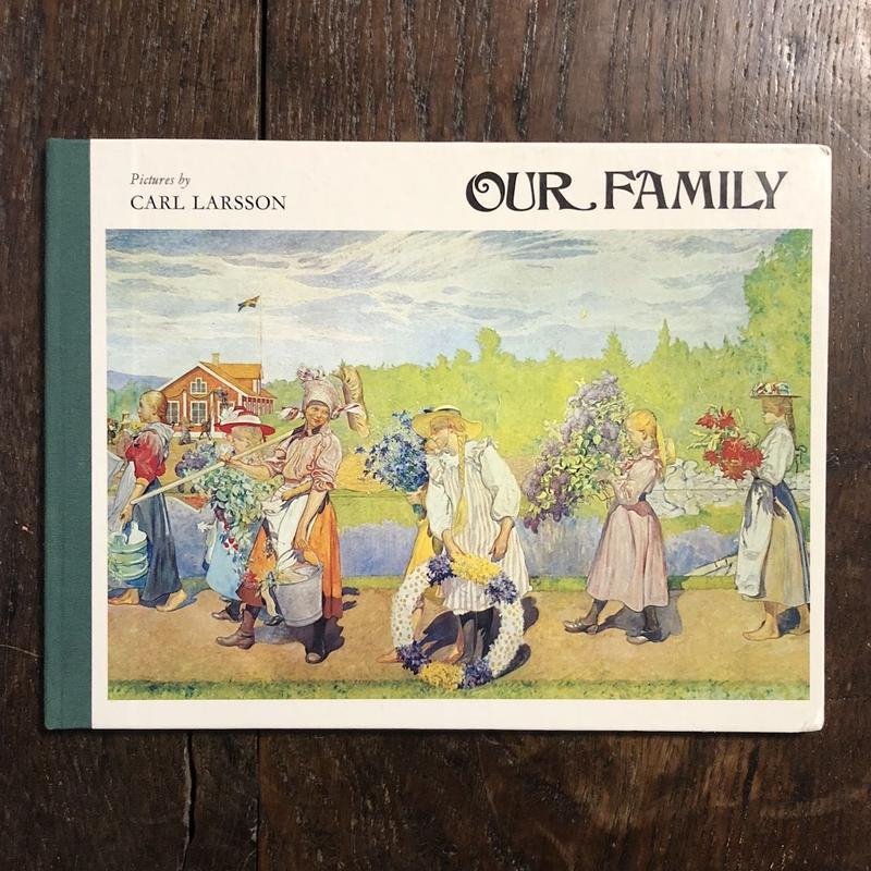 「OUR FAMILY」Carl Larsson(カール・ラーション)