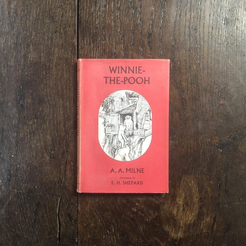 「WINNIE-THE-POOH(1965年版)」A. A. Milne(ミルン) E. H. Shepard(シェパード)
