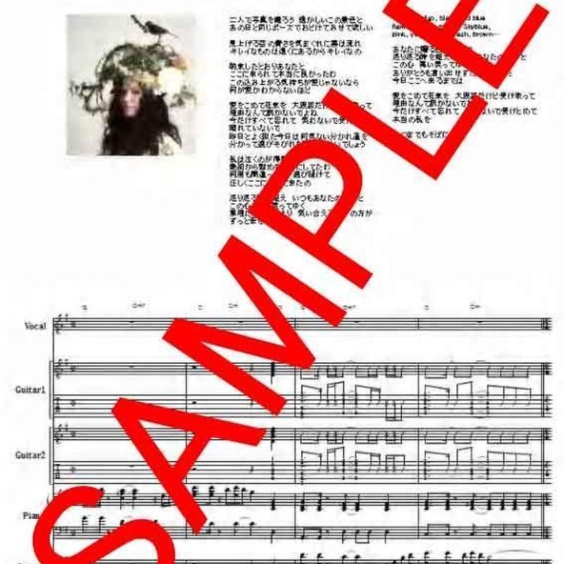 Superfly (スーパーフライ)  /  愛をこめて花束を バンド・スコア (TAB譜)