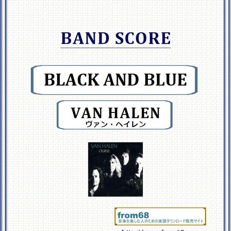 ヴァン・ヘイレン(VAN HALEN) / BLACK AND BLUE バンド・スコア(TAB譜) 楽譜