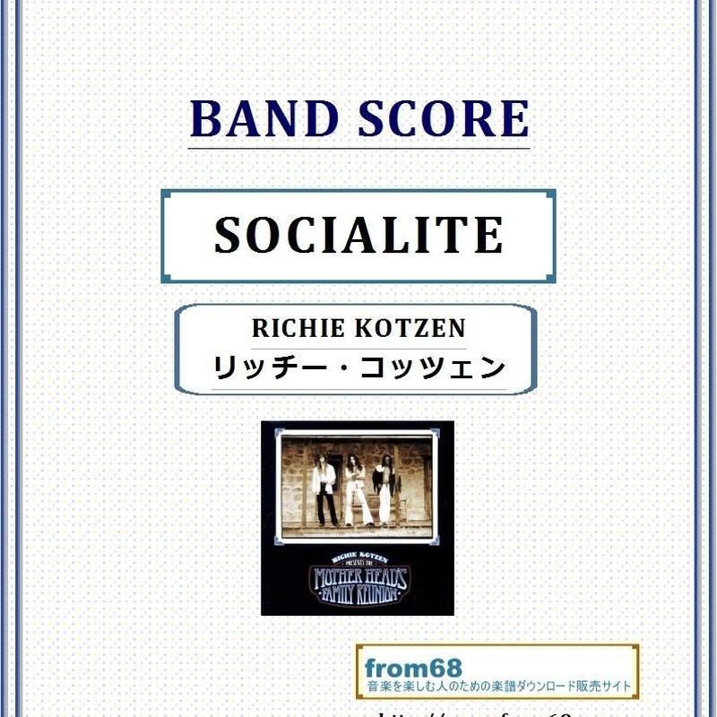 リッチー・コッツェン(RICHIE KOTZEN)  / SOCIALITE バンド・スコア(TAB譜) 楽譜