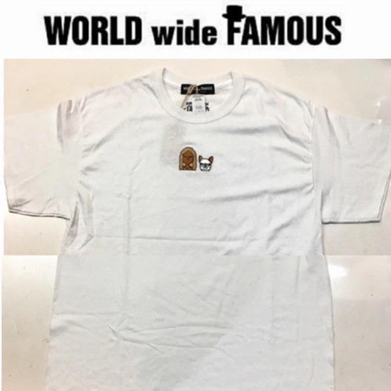【World wide Famous】 2018春夏 コゲナツチャンコラボタンTシャツ