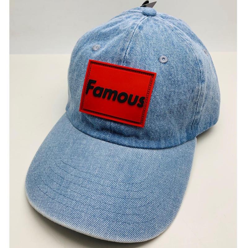 【World wide Famous】FAMOUS デニムCAP