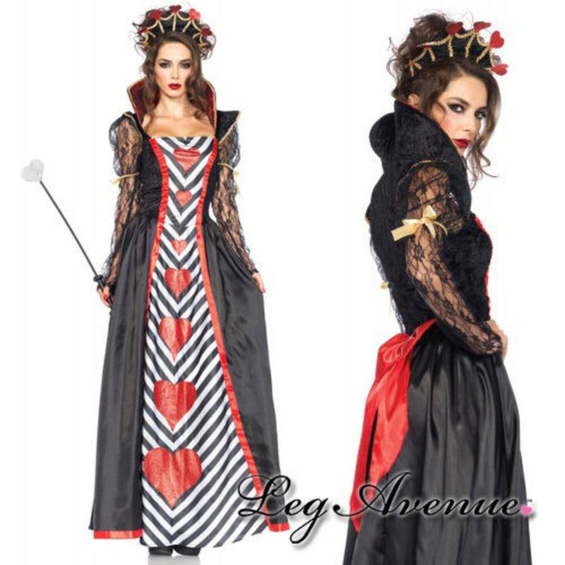 【LegAvenue】◆ 即納 ◆ 送料無料 LEGAVENUE ハートの女王 2点セット
