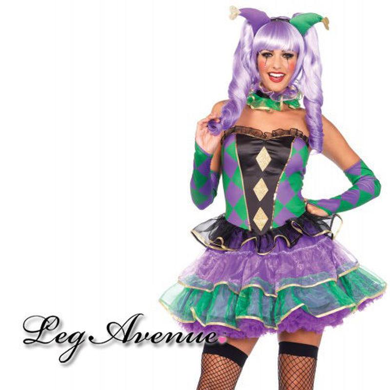 【LegAvenue】ハロウィン ◆即納◆ マルディグラスウィーティーコスチューム 5点セット
