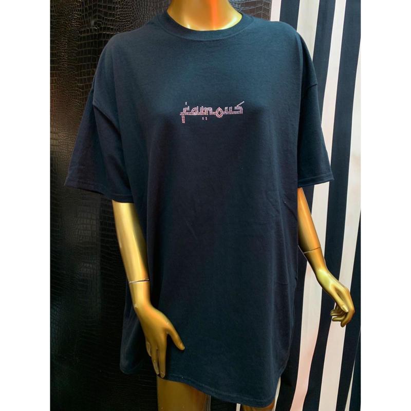【World wide Famous】アラビック ストーン ロゴ Tシャツ