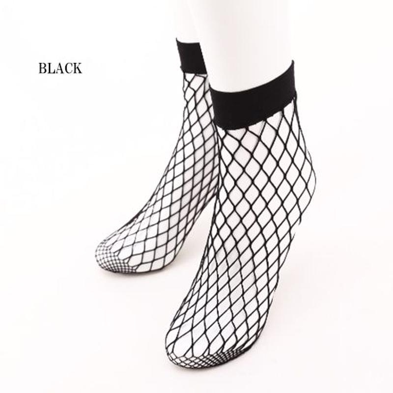 【LuxuryRose】今一番トレンド!一足は持っておくべき!アミタイ靴下 網タイツ