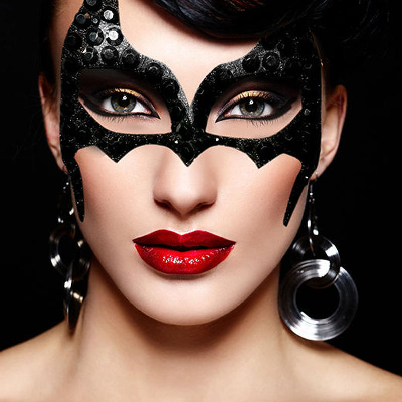 【XoticEyes】Batgirl 3D Mask