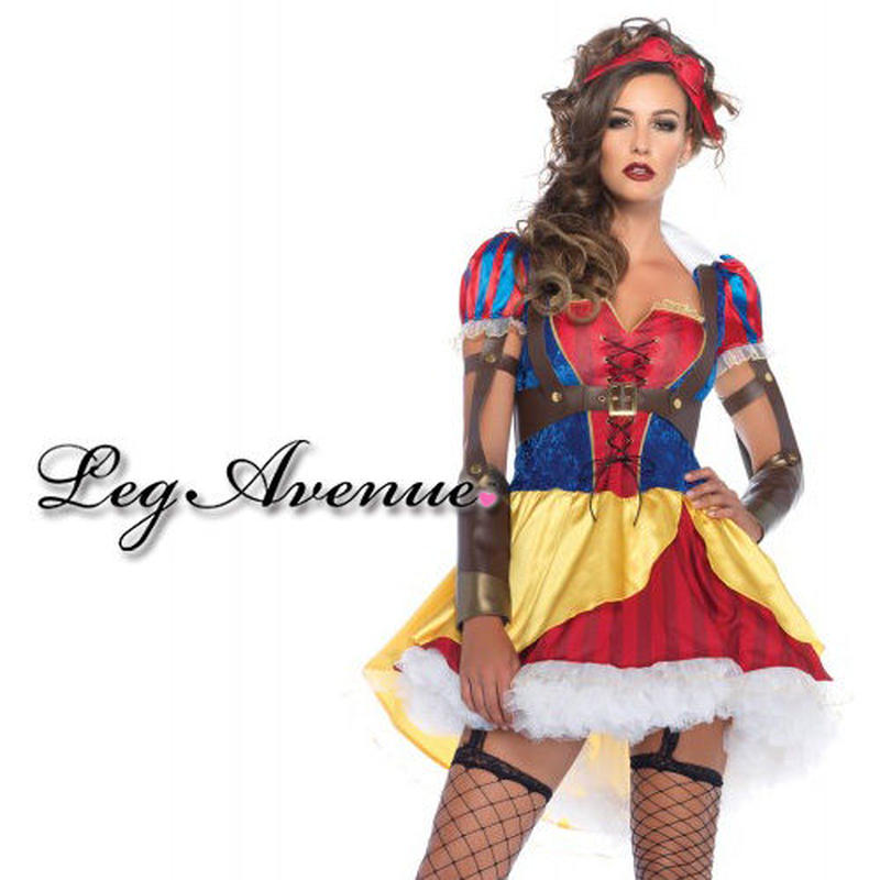 【LegAvenue】  ◆即納◆ 送料無料 ハロウィン LEGAVENUE 白雪姫 3点セット
