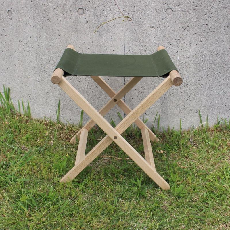 lefz-sk-04 折りたたみ椅子オリーブ