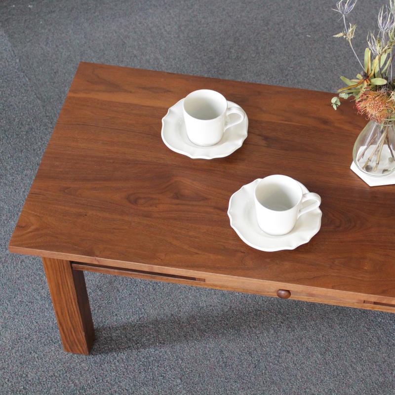 現品限り対象 Lv-U0008 センターテーブル ウォールナット材
