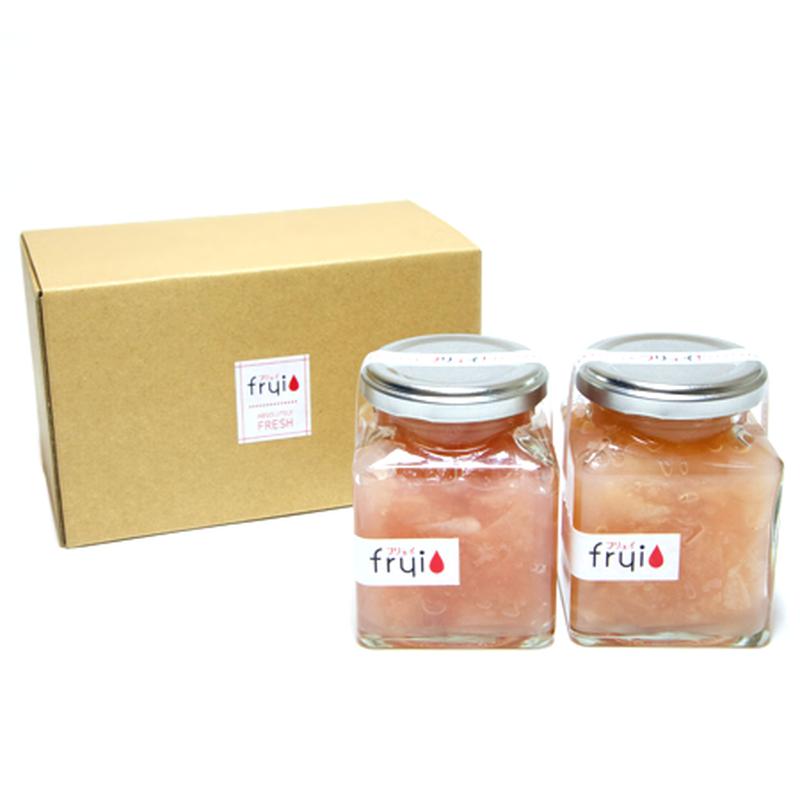 【新入荷】frui(フリュイ)リンゴジャム(180g)2個セット