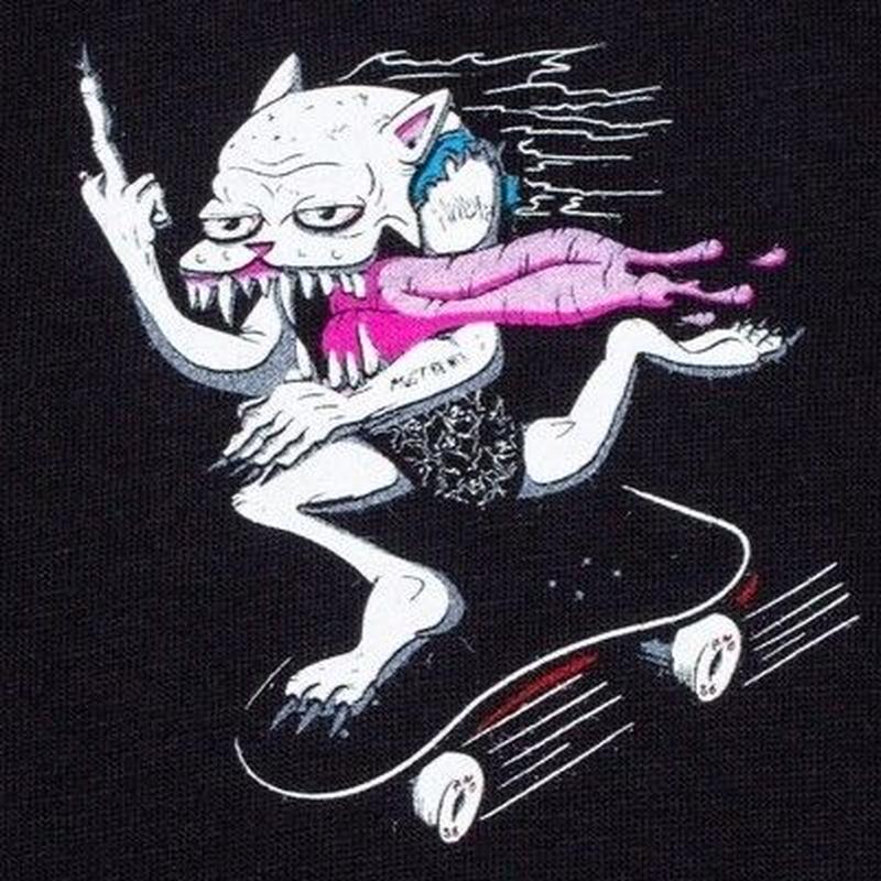 RIPNDIP Skate Nerm Tee (Black)