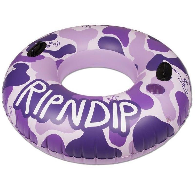 RIPNDIP Camo Tube Float (Purple)