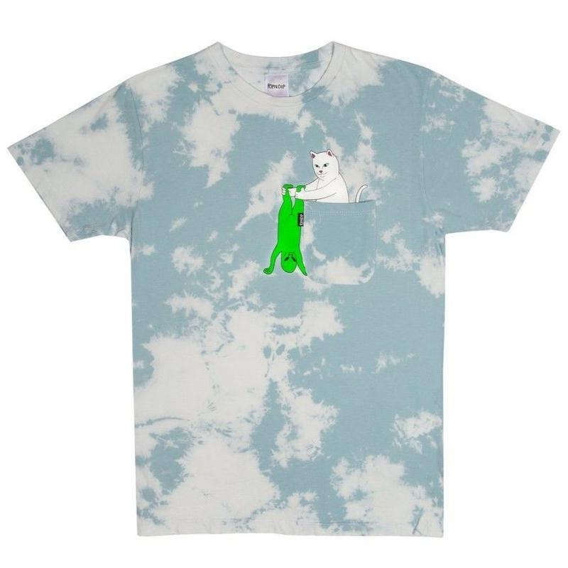 RIPNDIP Break Yo Self Pocket Tee (Cloud Wash)