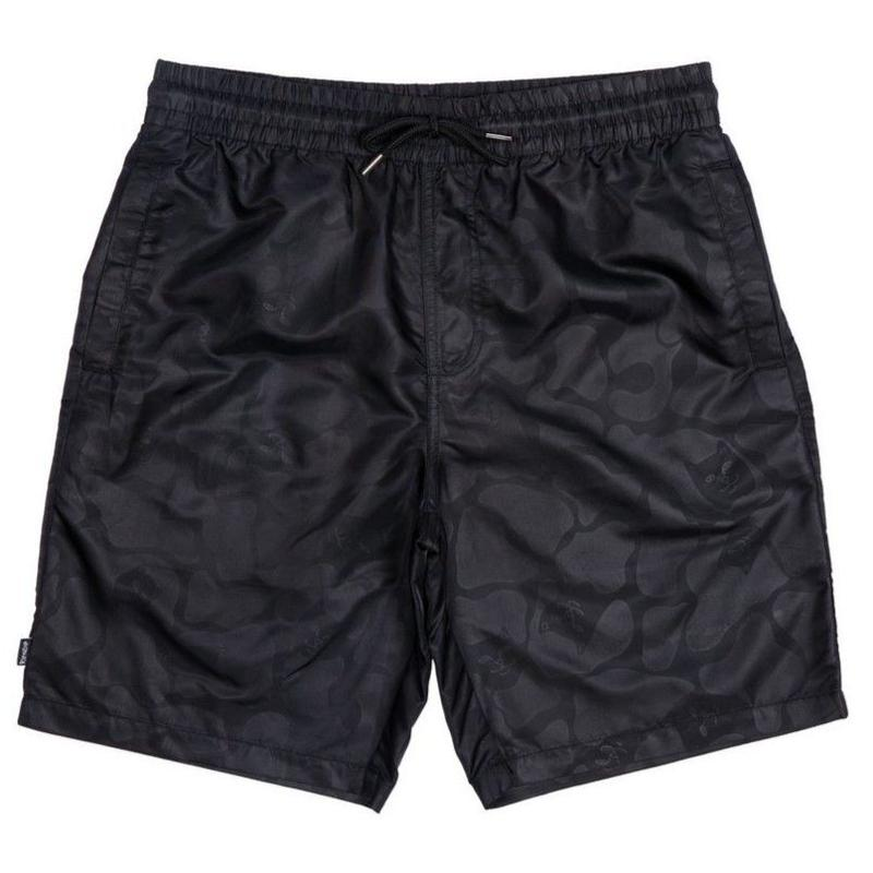 RIPNDIP   Black Out Nylon Shorts (Black Out Camo)