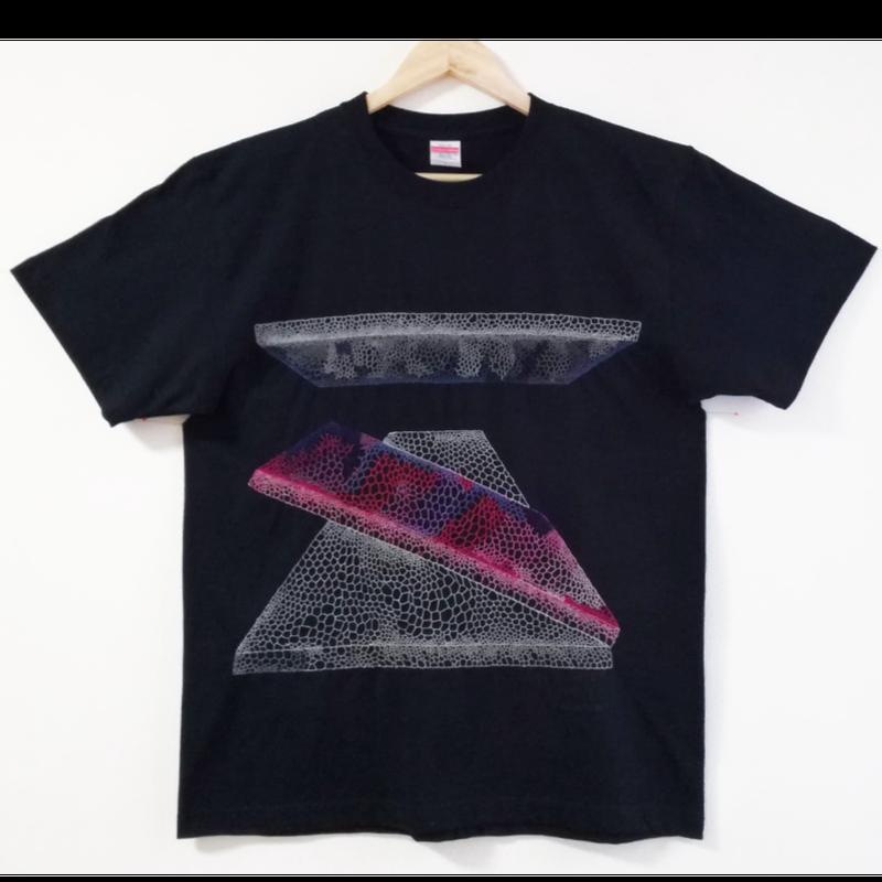 【手刺繍】「Suppression」_20180705__5.6オンスTシャツ