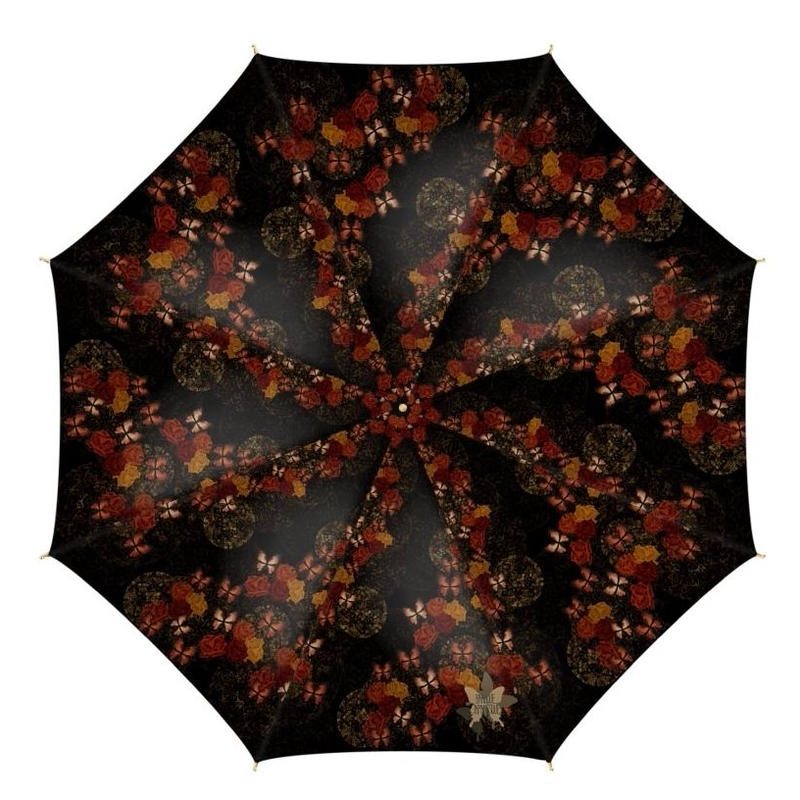 Rose and Butterfly Umbrella
