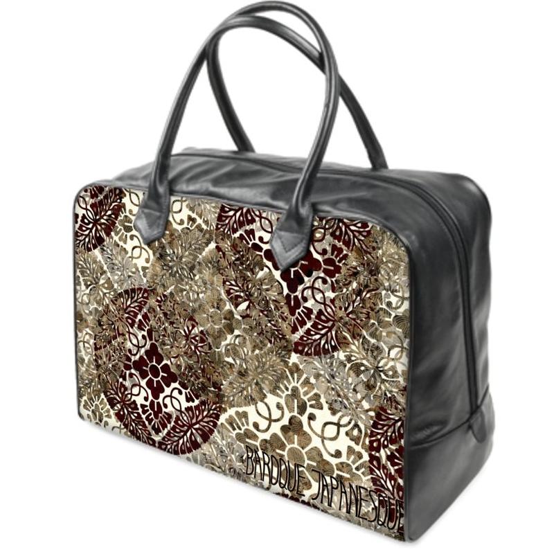 SAMURAI emblem Holdalls traveling Bag