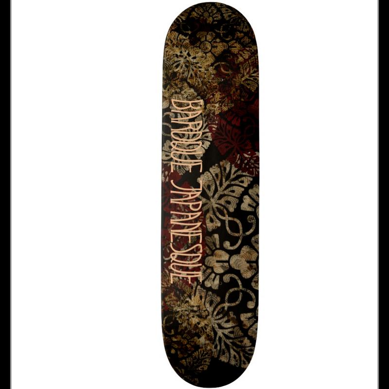 Japanese traditional emblem Skateboard