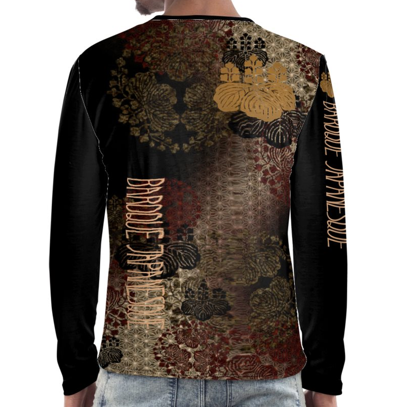 SAMURAI SHOGUN Toyotomi long sleeve T-shirt