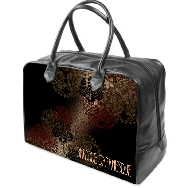 SAMURAI SHOGUN TOYOTOMI emblem Holdalls traveling Bag