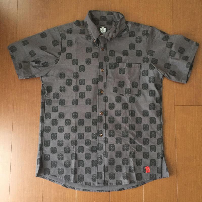 """FMHI """"KU TIKI""""  Aloha Shirt"""