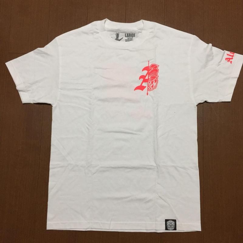 FMHI MAHALO KE AKUA(White/Red) Tee