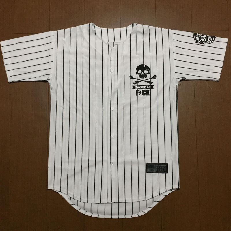 FMHI SAVAGE Base ball Jersey(Stripe)