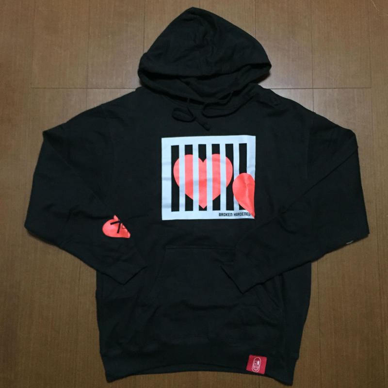 BROKEN HARDENED Luxury & Prison Hoodie