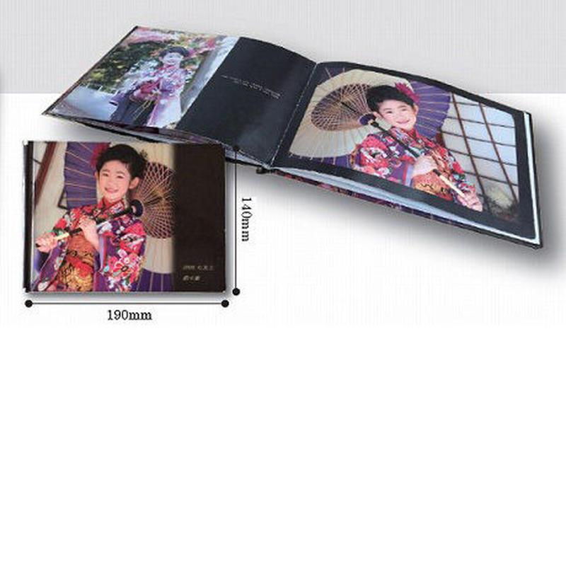 オリジナル写真集Bサイズ (横)12ページ