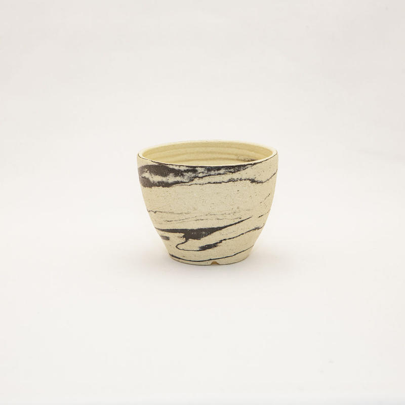 "Akio Fukuda Original Handmade Pot ""Yuuzen"".6  悠然.6"