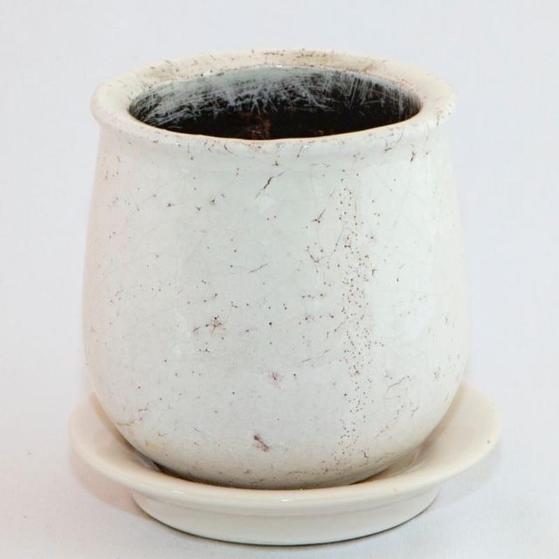 アンティーク シャビー ポット  / Used Pot.14【中古鉢】